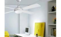 Ventilador de Techo con Luz y mando ai24 BL