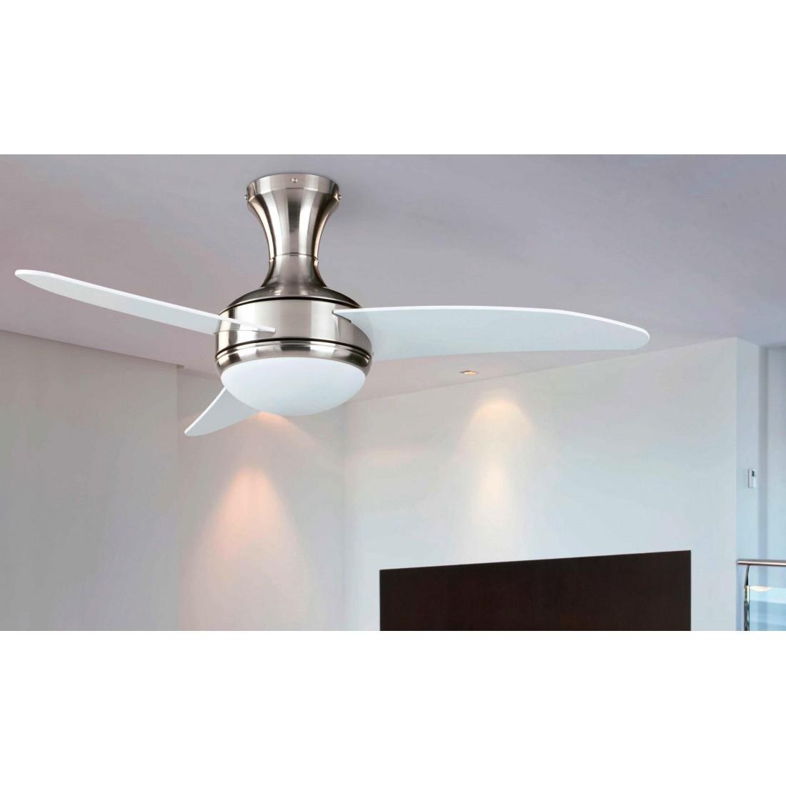 Ventilador de techo con luz y mando ai28 - Luz de techo ...