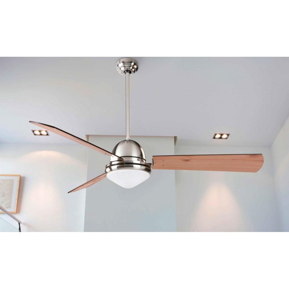 Ventilador de techo con luz y mando ai29 - Luz de techo ...