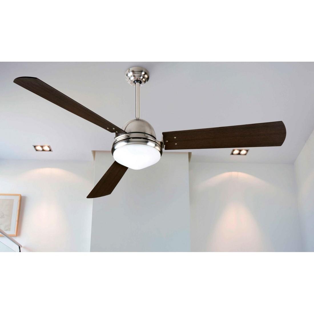 Ventilador de techo con luz y mando ai29 for Ventiladores de techo com