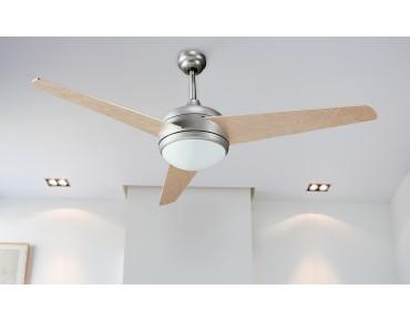 Ventilador de Techo con Luz y mando - 50988 CR