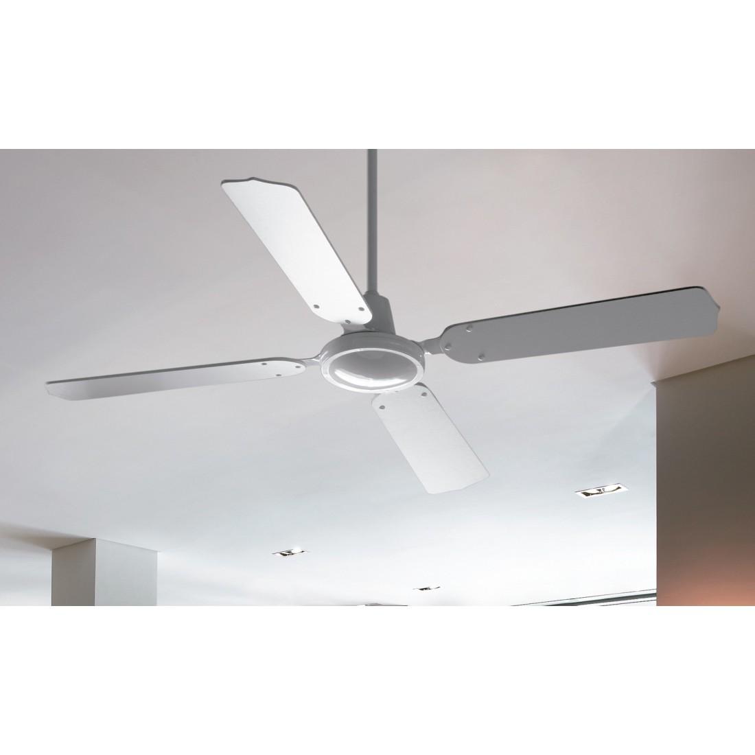 Ventilador de techo con regulador de pared ai05 bl - Ventilador techo ...