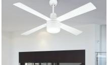 Ventilador de Techo con luz y regulador de pared ai23 BL