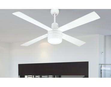 Ventilador de Techo con luz y regulador de pared - 50985 BL
