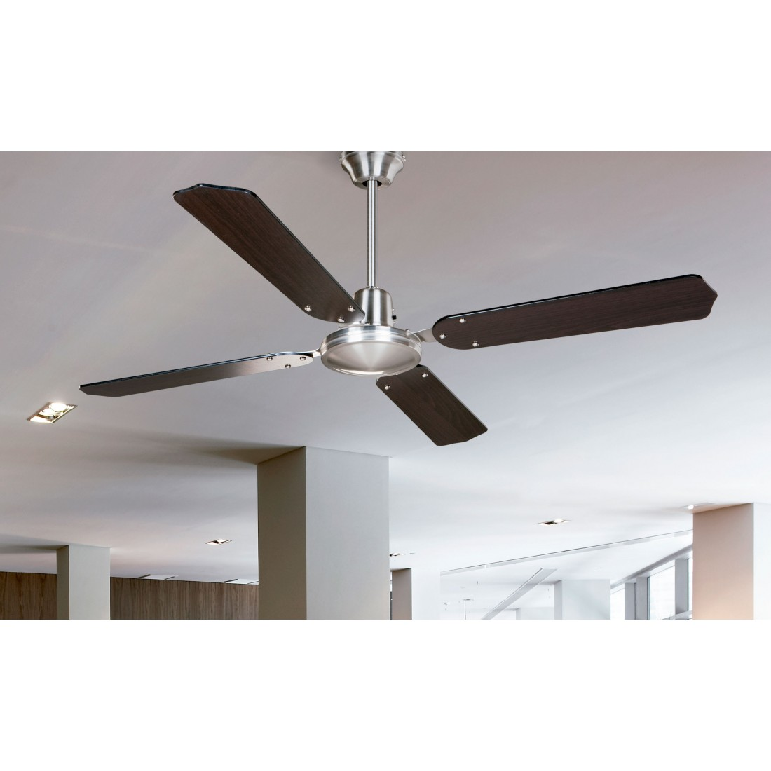 Ventilador de techo con regulador de pared ai05 we - Ventiladores para techo ...